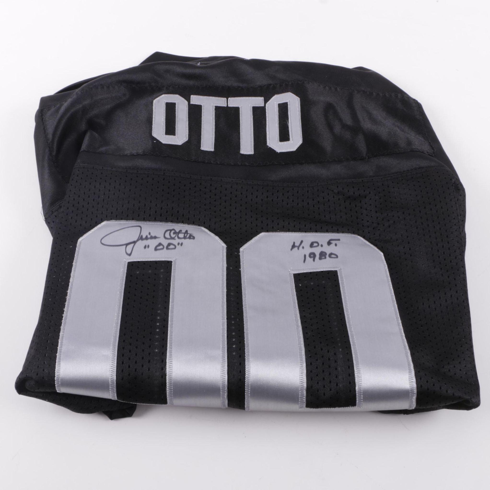 Jim Otto Signed Football Jersey
