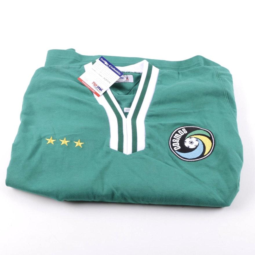 e82915e61 Vintage Pele Signed New York Cosmos Jersey : EBTH