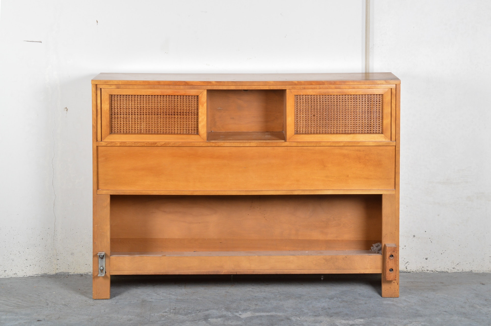 Mid Century Modern Full Size Bed Frame by Conant Ball