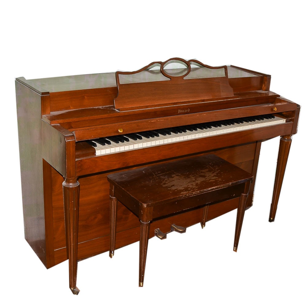 Vintage Howard Spinet Piano by Baldwin