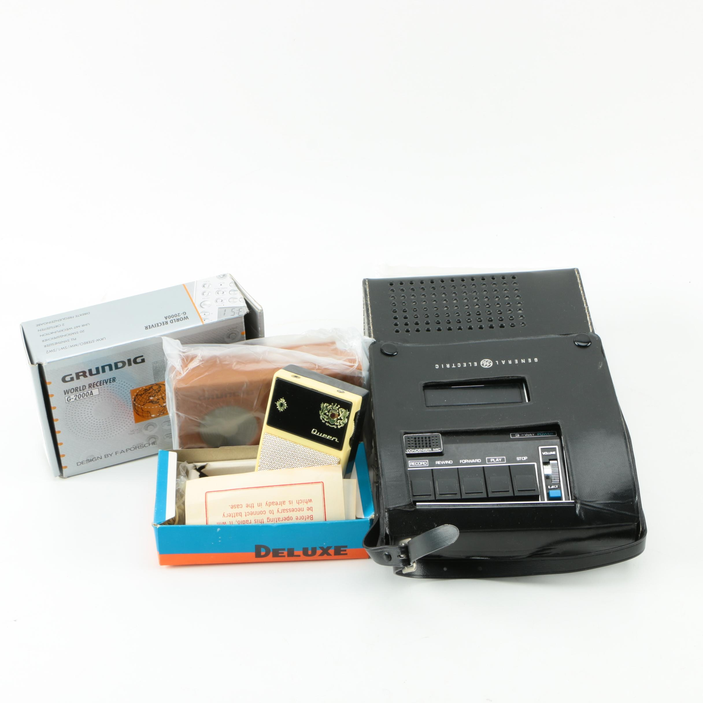 Vintage Tape Recorder And Radios Ebth