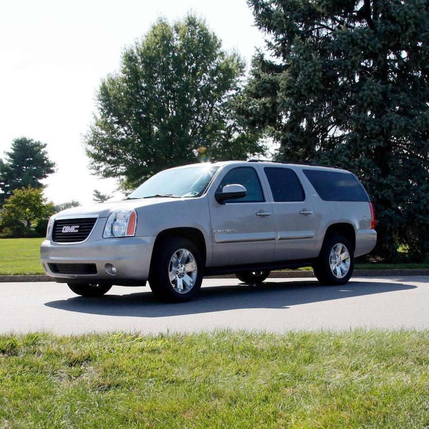 2008 Gmc Yukon Transmission: 2008 GMC Yukon XL 1500 SLE 4WD : EBTH