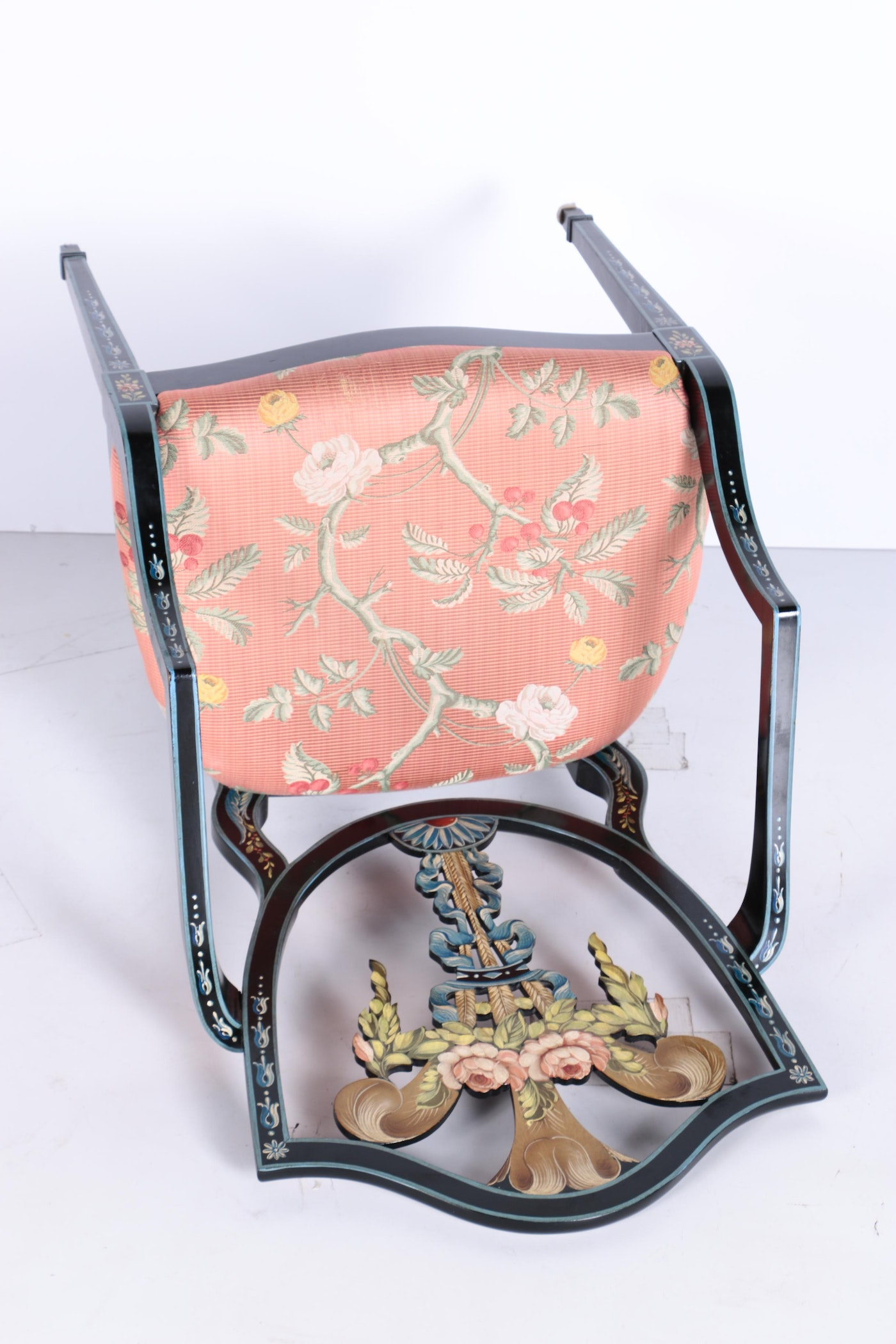 Arrow Back Hand Painted Chair