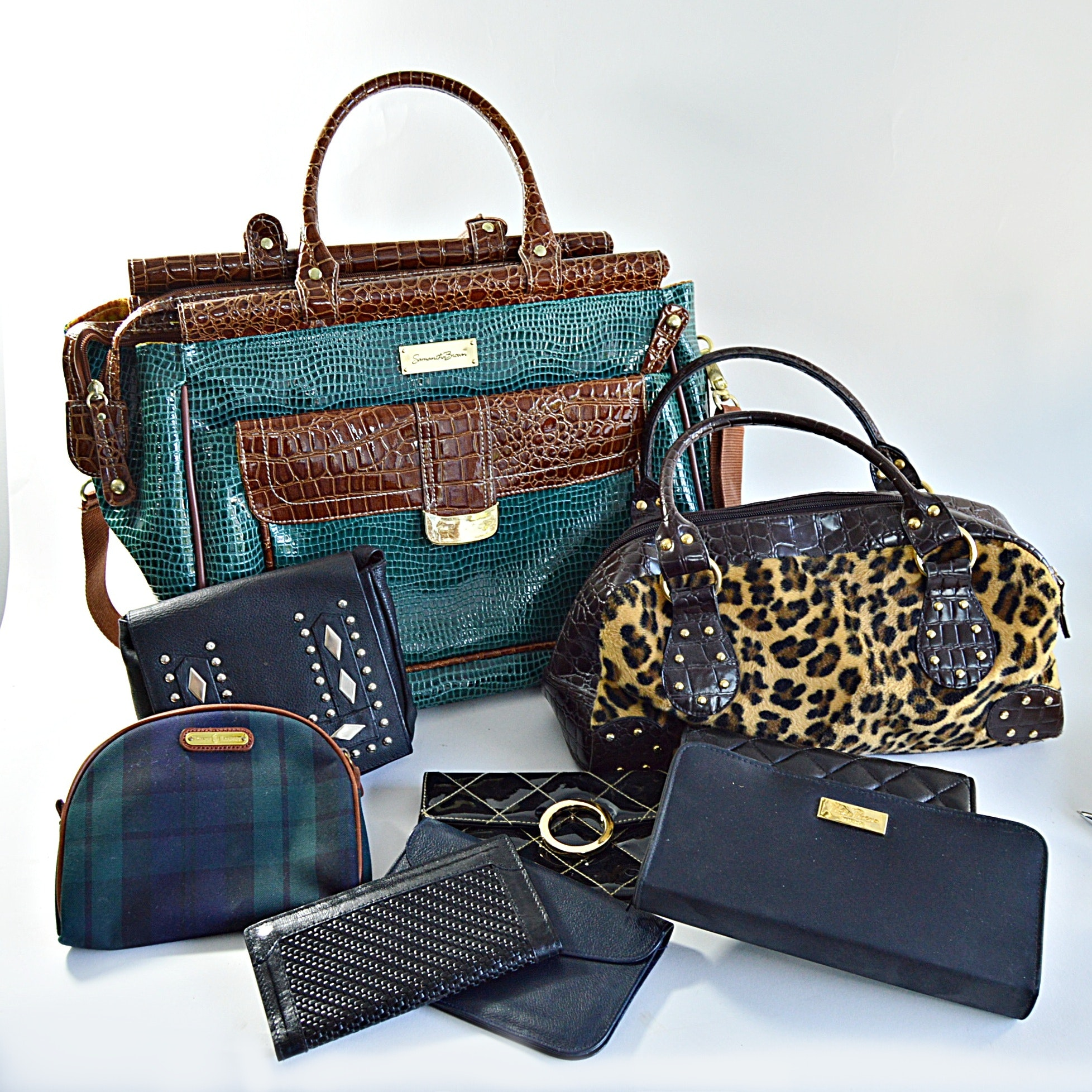 Tote Bag, Purses and Wallets Including Ralph Lauren and Paloma Picasso