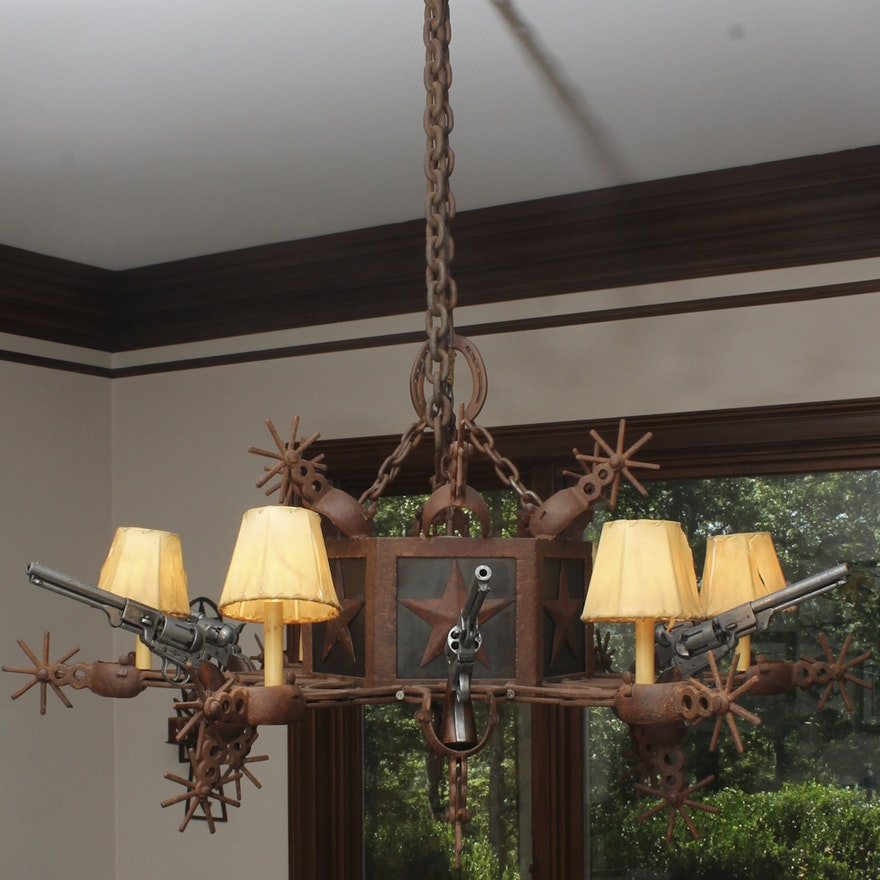 Six gun chandelier ebth six gun chandelier 1x1 mozeypictures Images