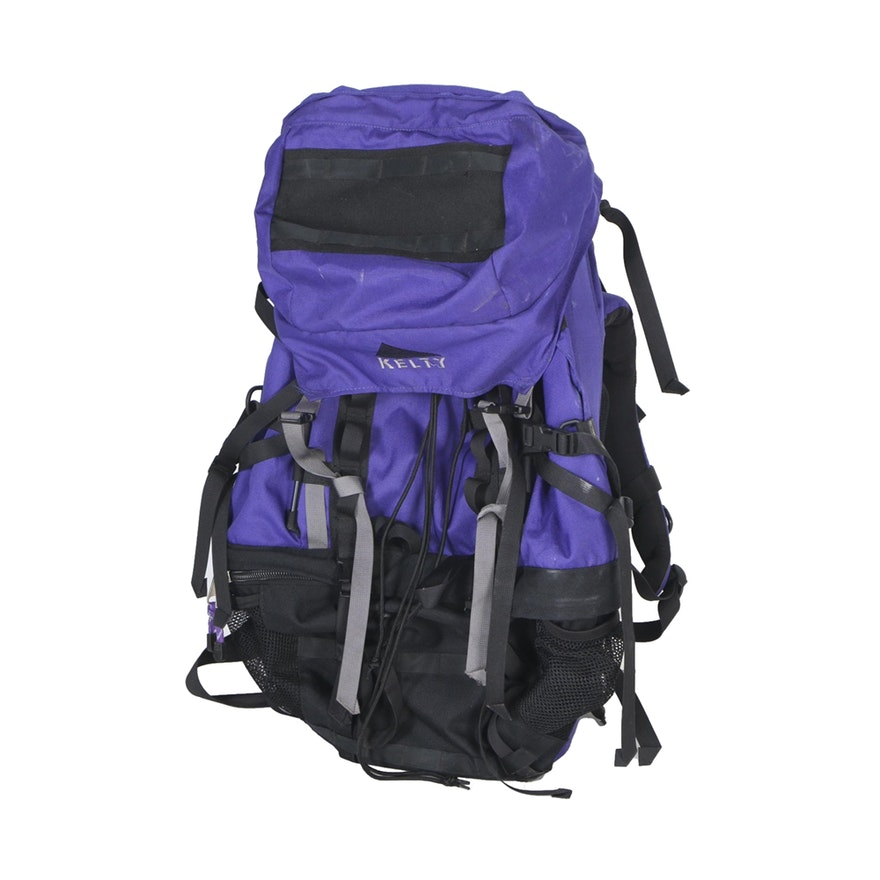 Purple Hiking Backpack Click Backpacks