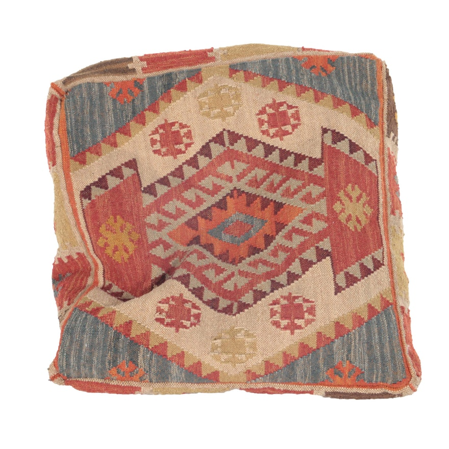 Fabulous Pottery Barn Turkish Kilim Chair Cushion Beutiful Home Inspiration Xortanetmahrainfo