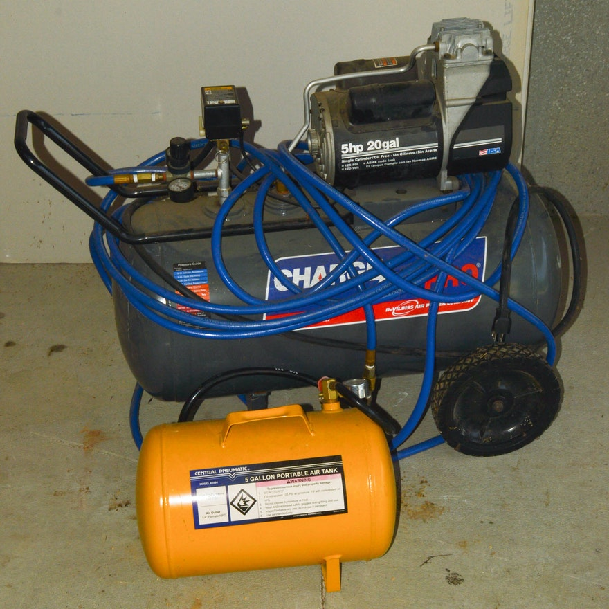 charge air pro and central pneumatic air compressors ebth