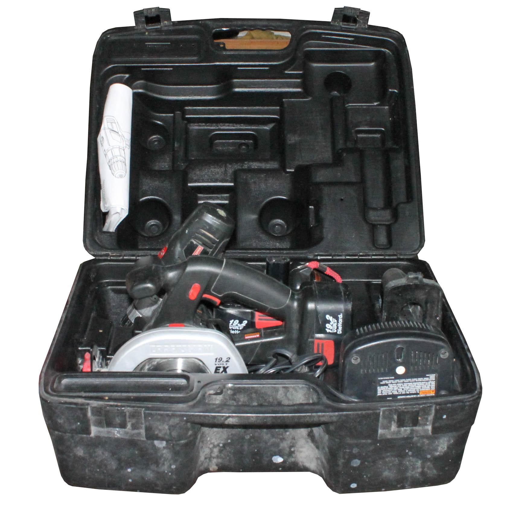 Craftsman 19.2 Volt Cordless Power Tool Set