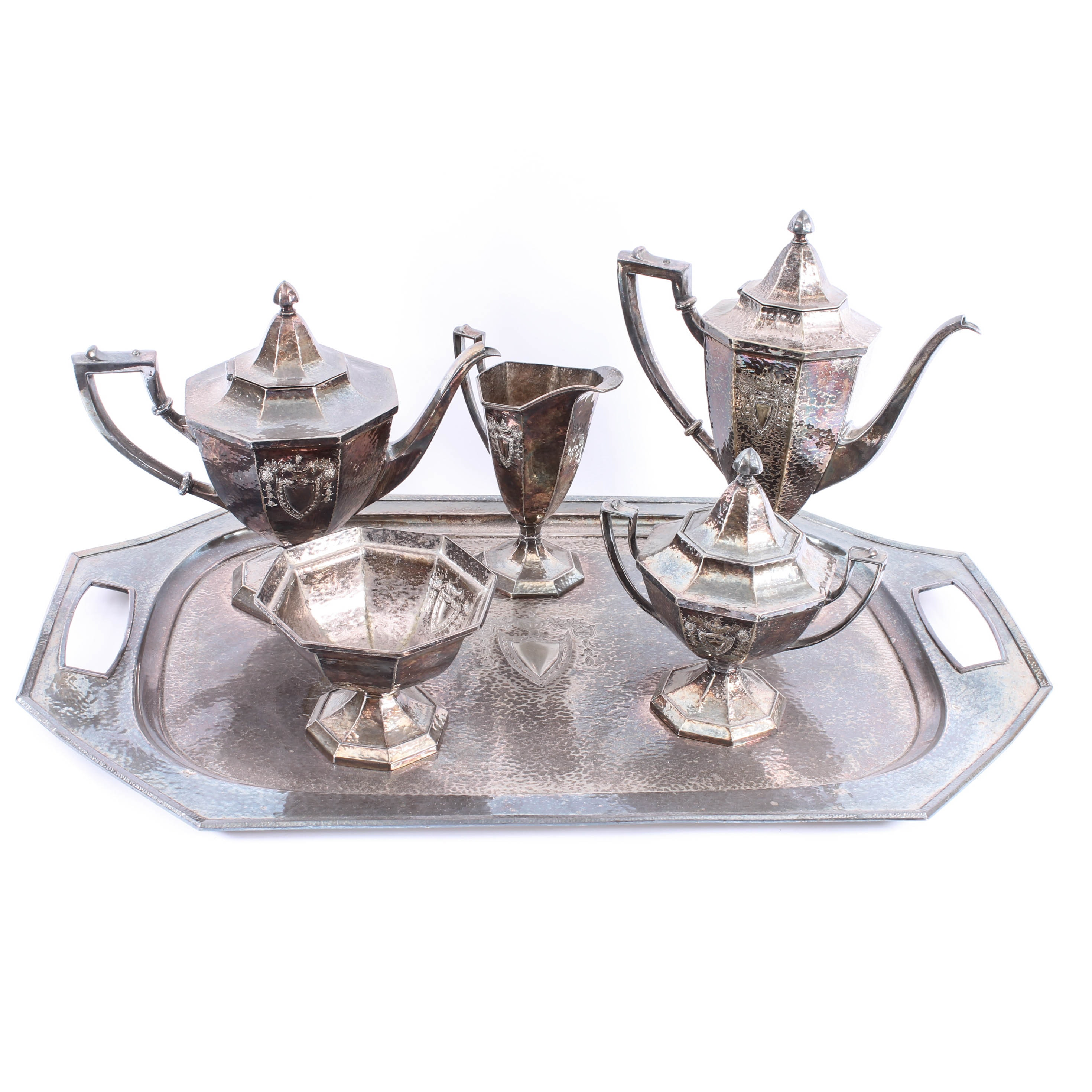 Roger Bros Silver Plated Service Set
