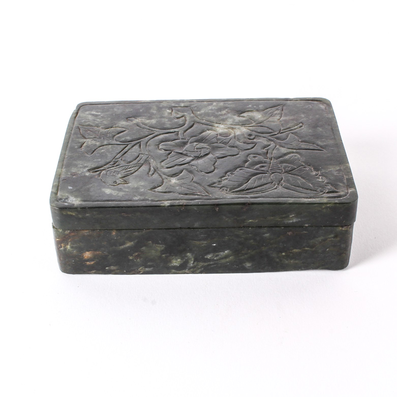 Nephrite Jade Jewelry Box EBTH