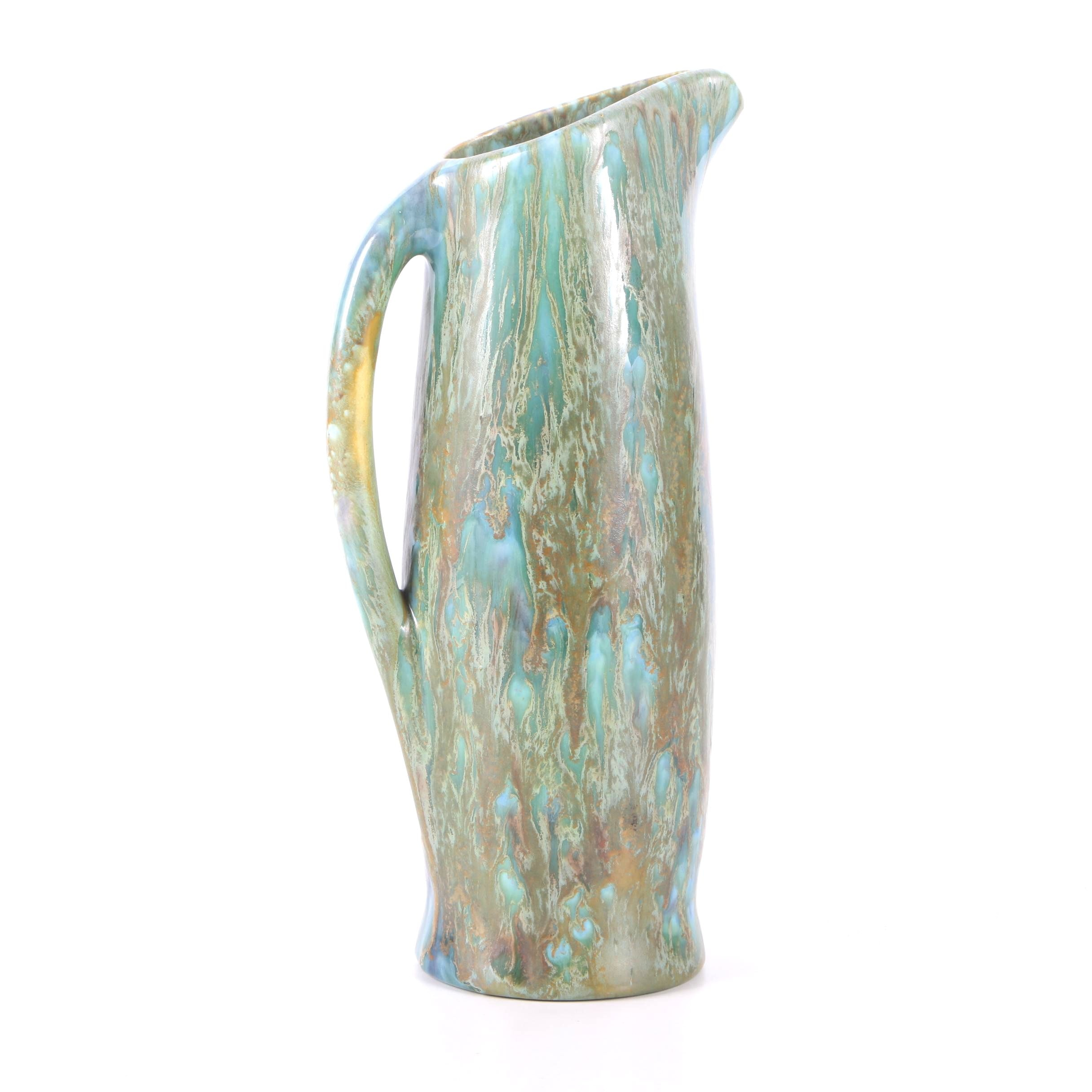 Mid-Century Monterey Pottery Co. Glazed Pitcher
