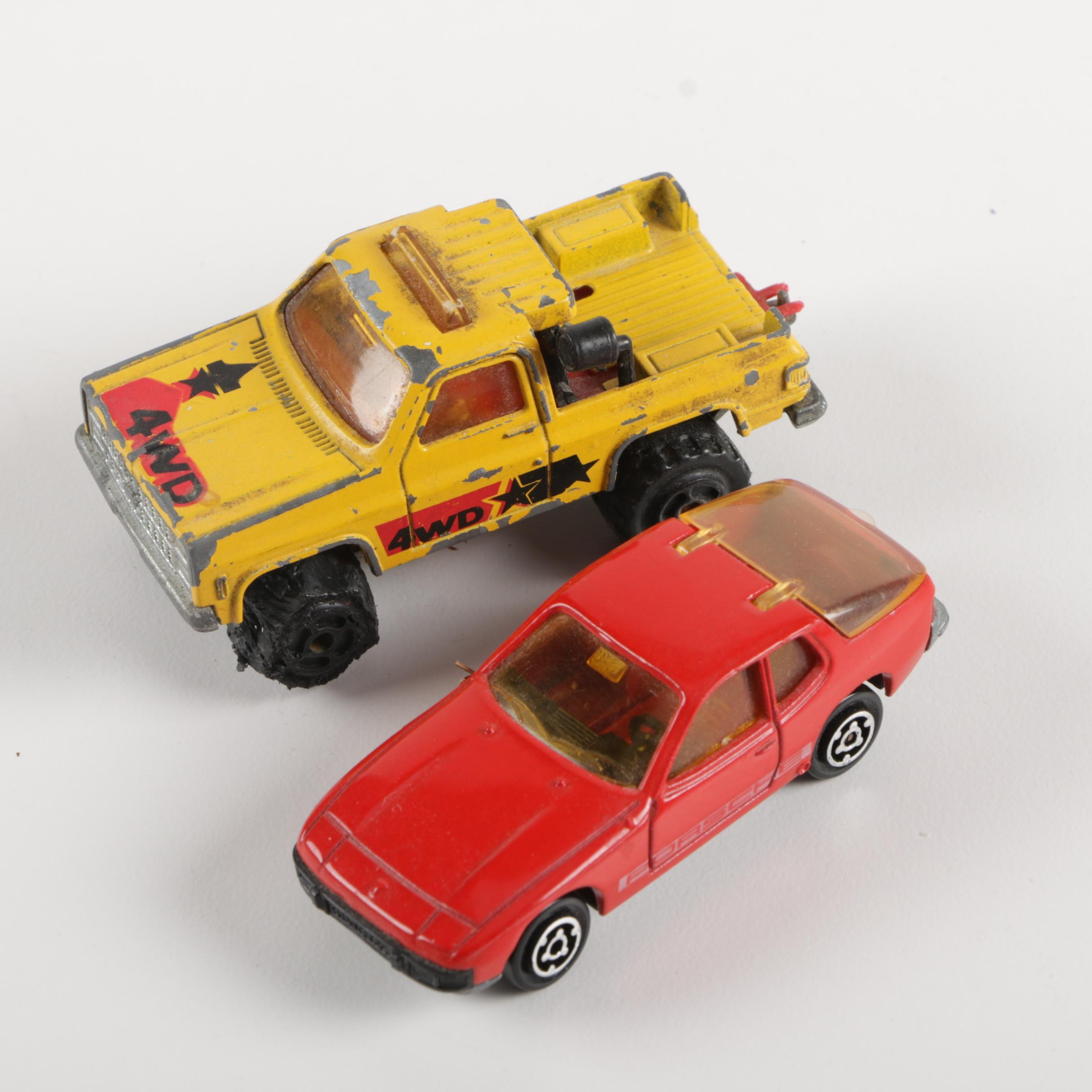 Pair of Majorette Die-Cast Cars