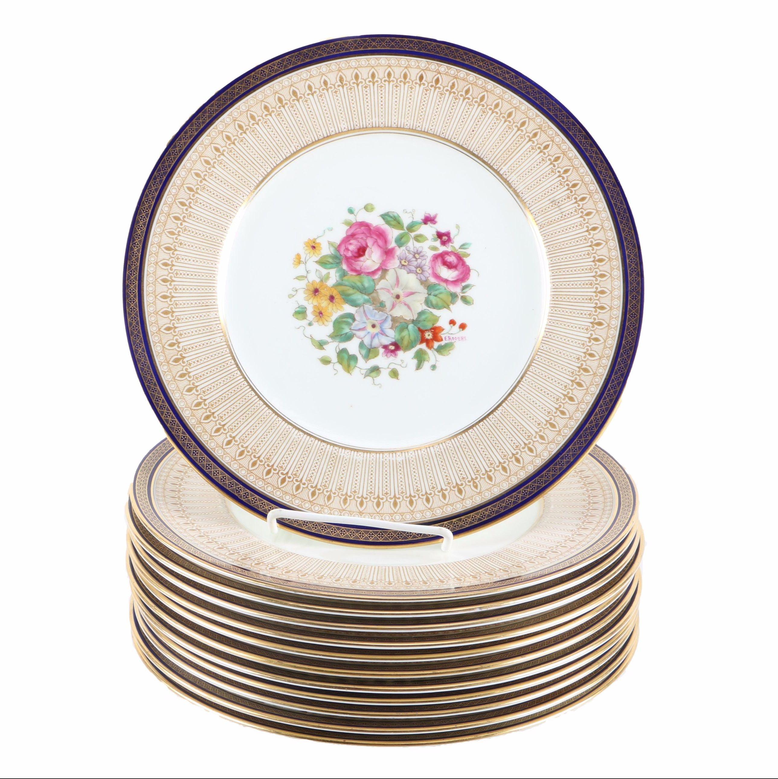 Cauldon China Dinner Plates