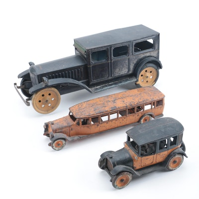 Assortment of Pressed Steel Cars