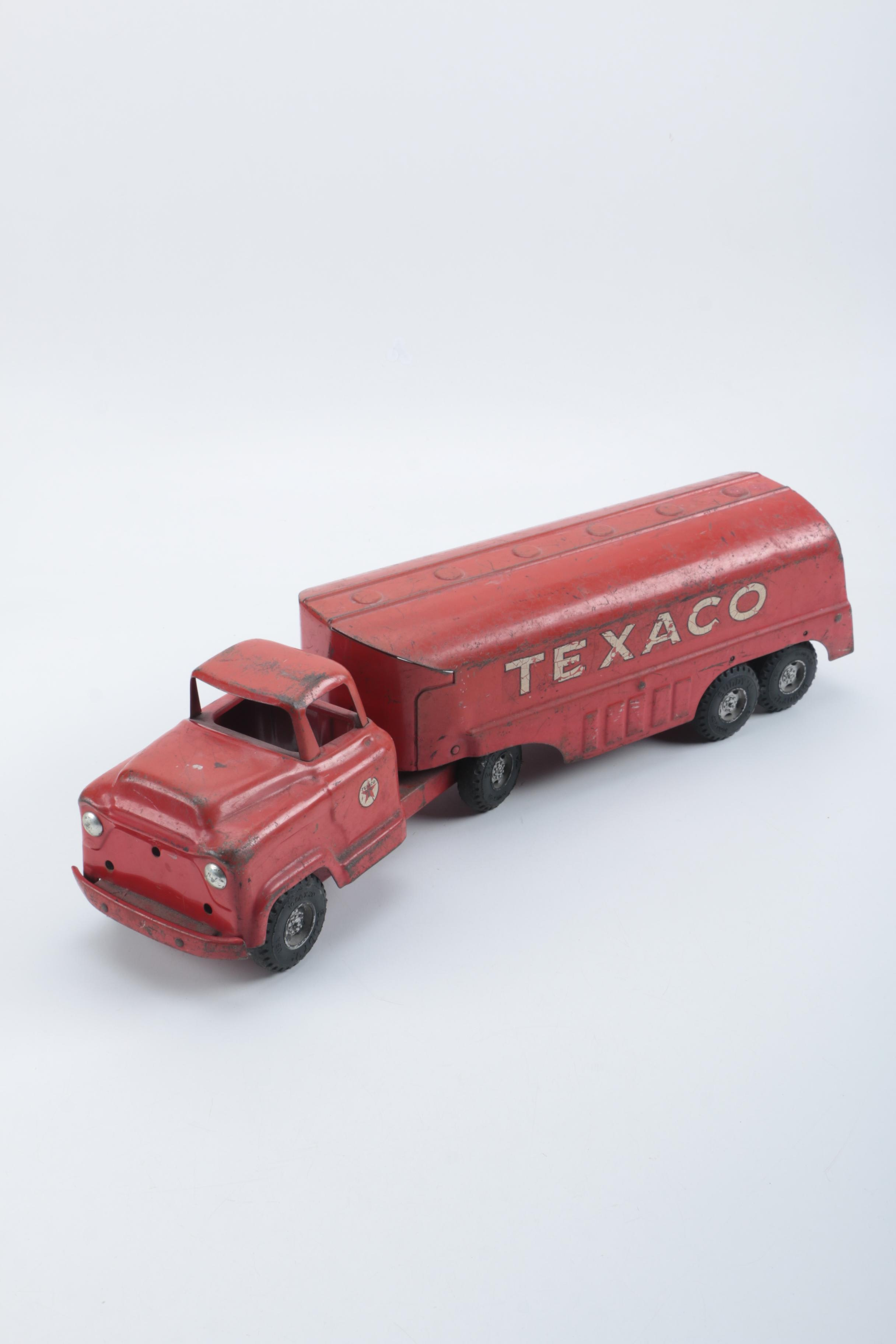 1950s Pressed Steel Buddy L. Texaco Tanker Truck