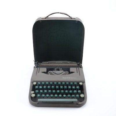 Smith Corona Travel Skyriter Typewriter