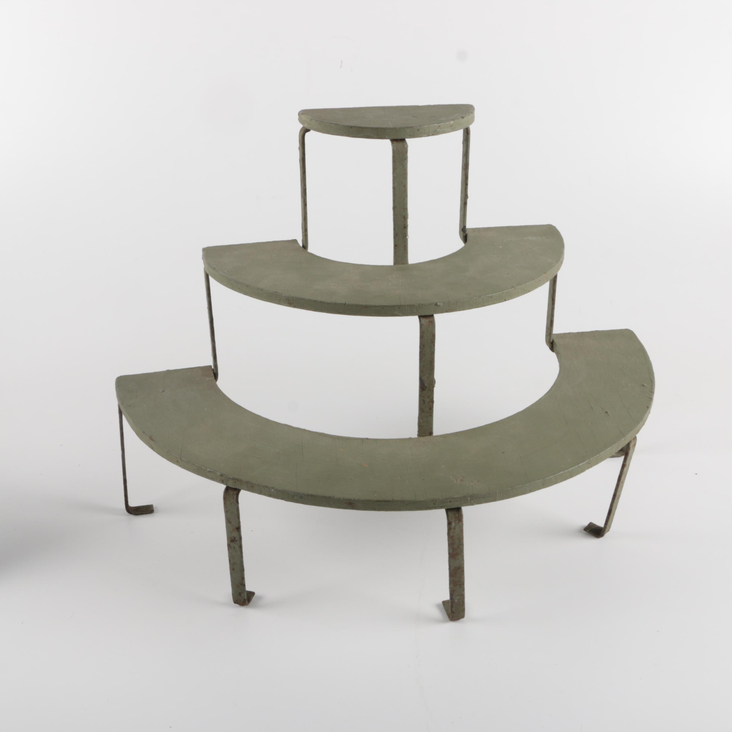 Small Three Tiered Plant Stand