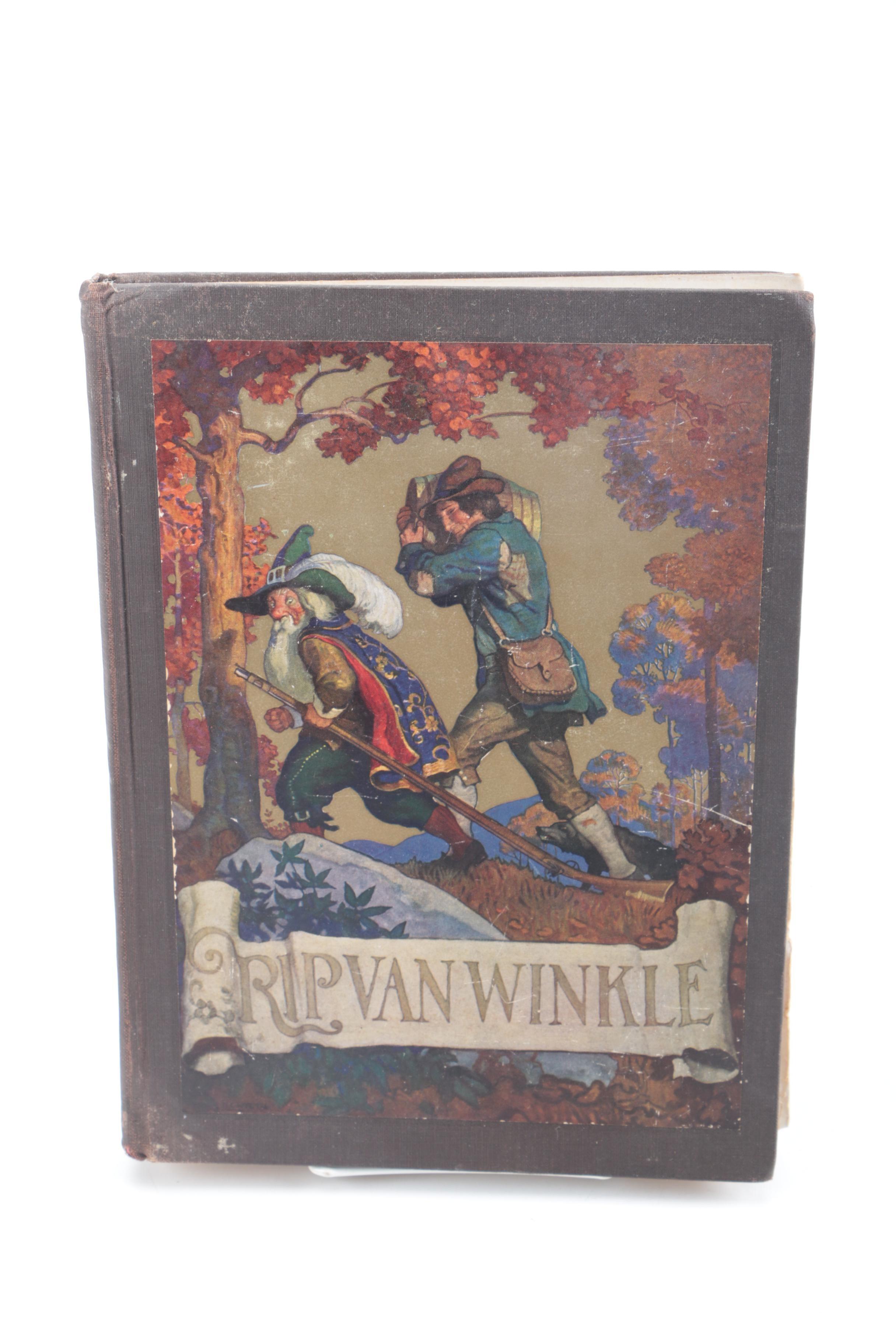 """1921 """"Rip Van Winkle"""" Illustrated by N. C. Wyeth"""