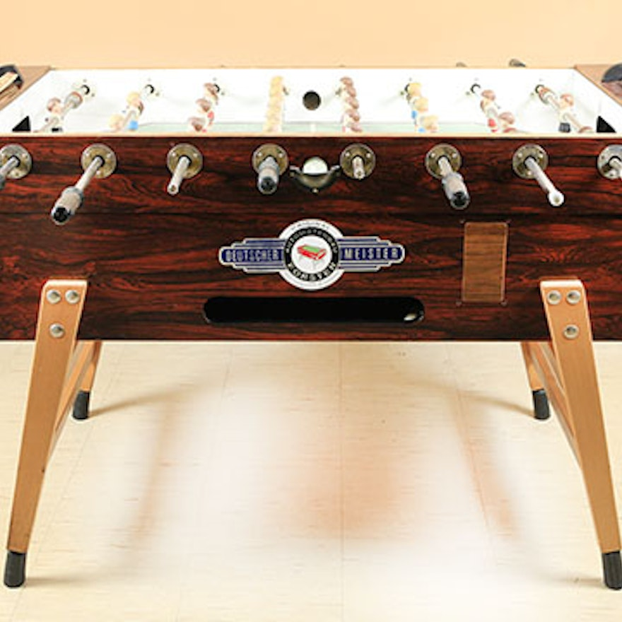 Deutscher Meister Foosball Table EBTH - Deutscher meister foosball table