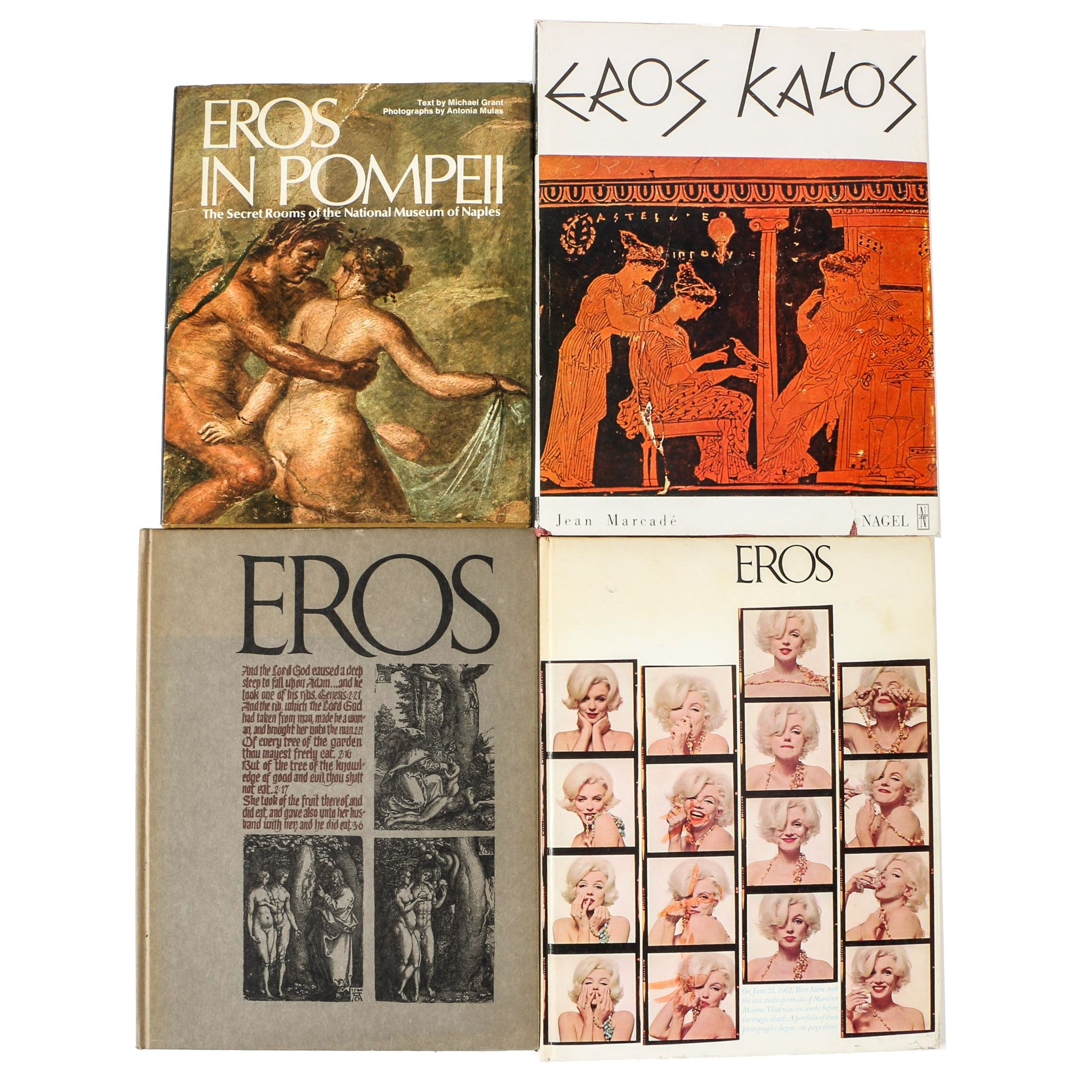 """Collection of """"Eros"""" Magazines and Books"""