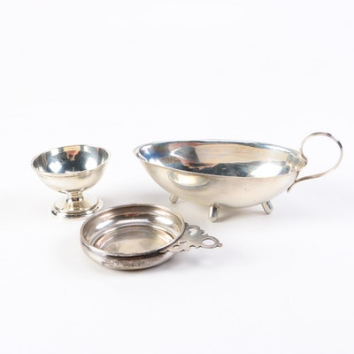Sterling Silver Tableware Featuring S. Kirk & Son