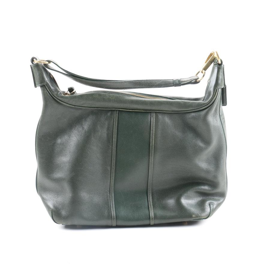 9762e6f124 Coach Hampton Soho Bag in Green Leather   EBTH