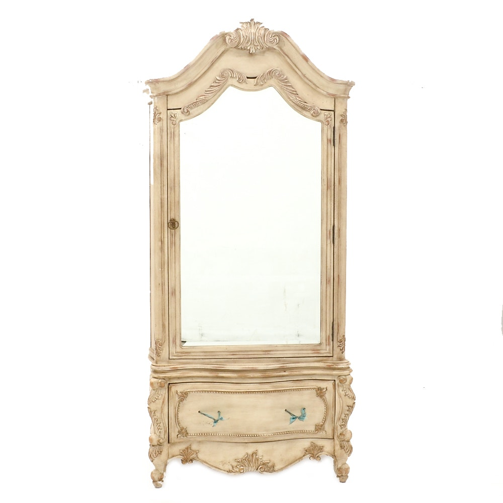 French Provincial Style Wardrobe/Armoire By Pulaski ...