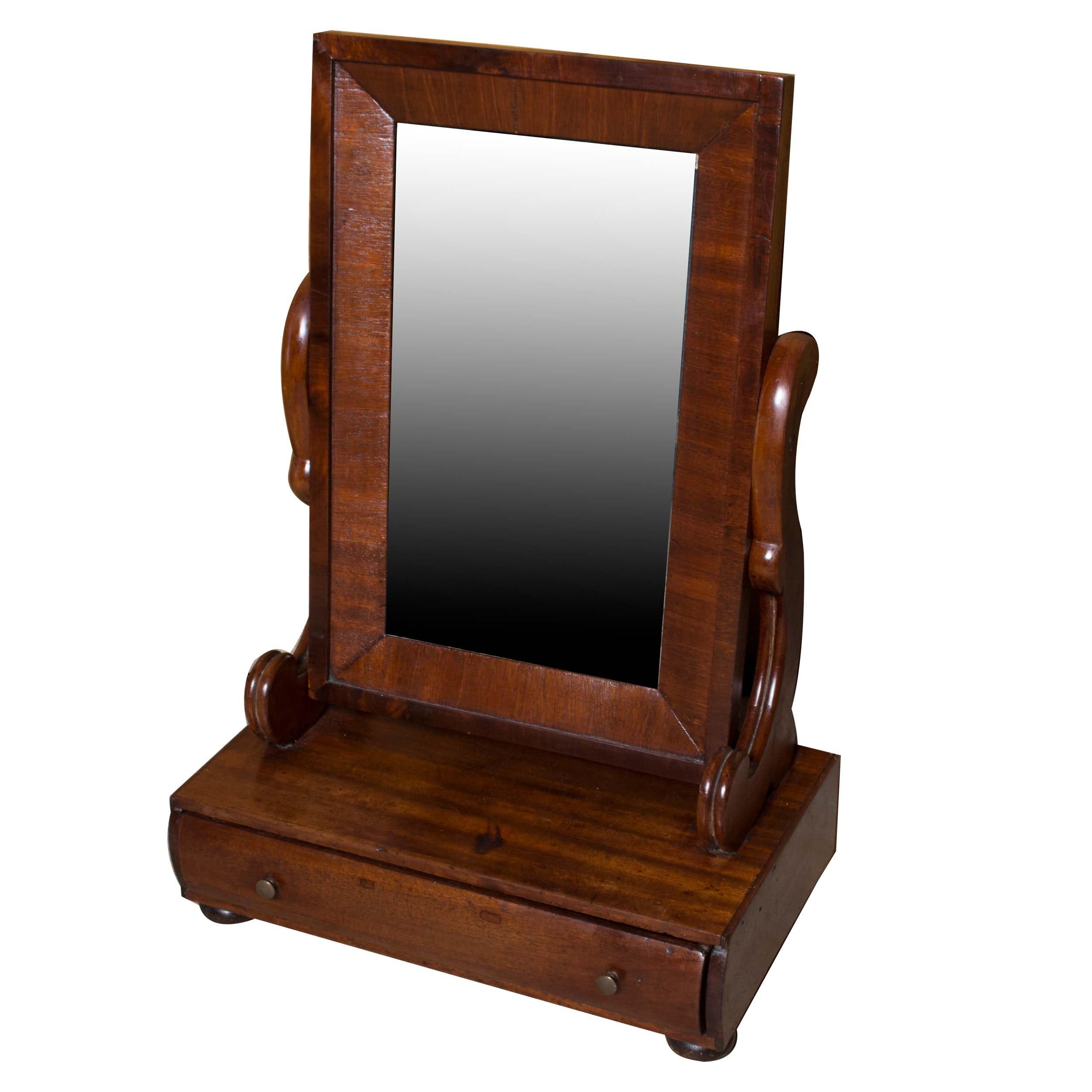 Antique Federal Shaving Mirror