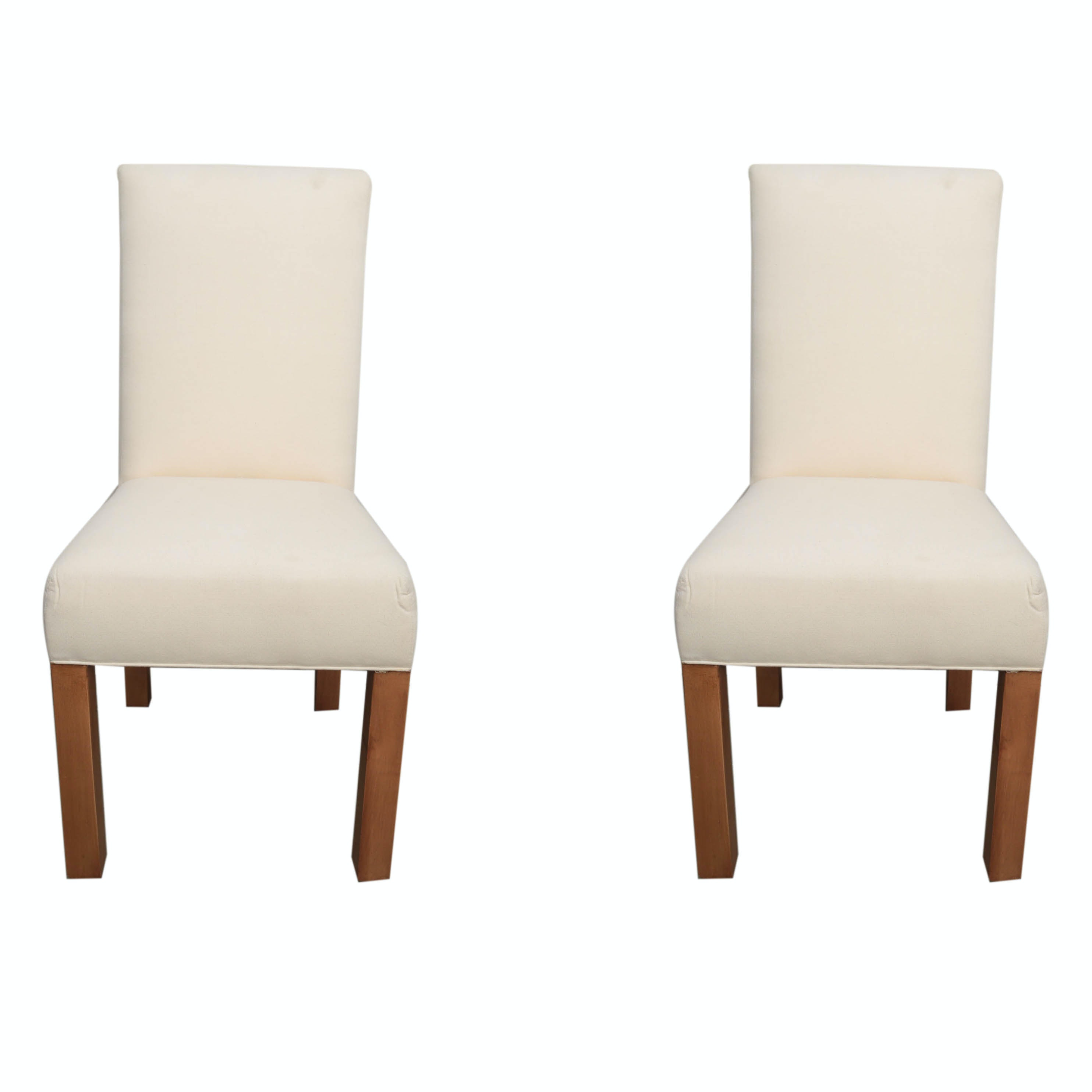 Contemporary Upholstered Side Chairs With Slipcovers ...