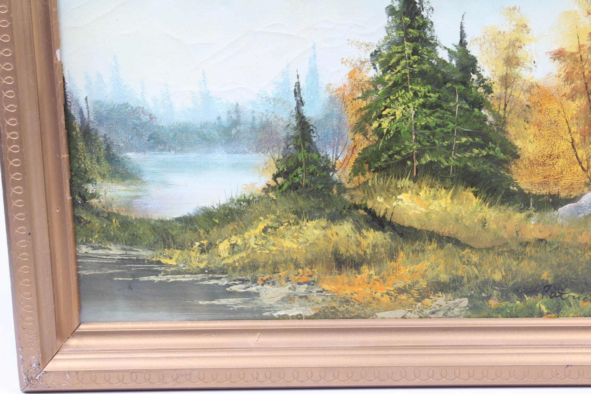 Ransom W Patrick Oil On Canvas Quot Northwest Solitude Quot Ebth