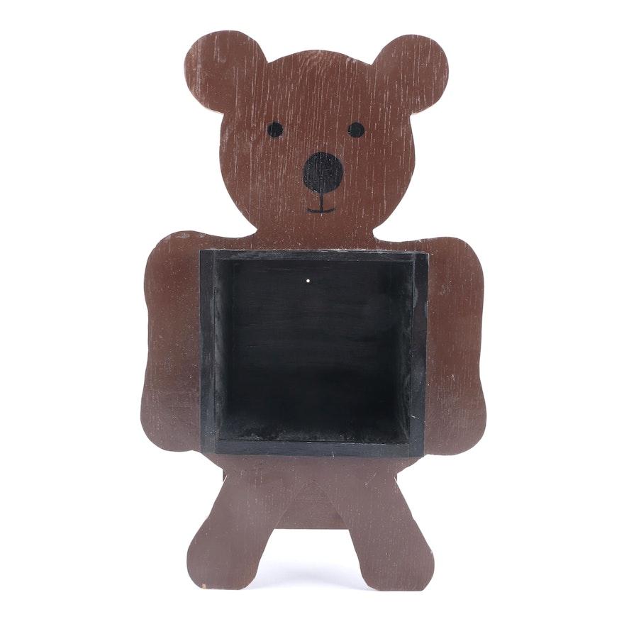 Wooden Bear Box Frame : EBTH
