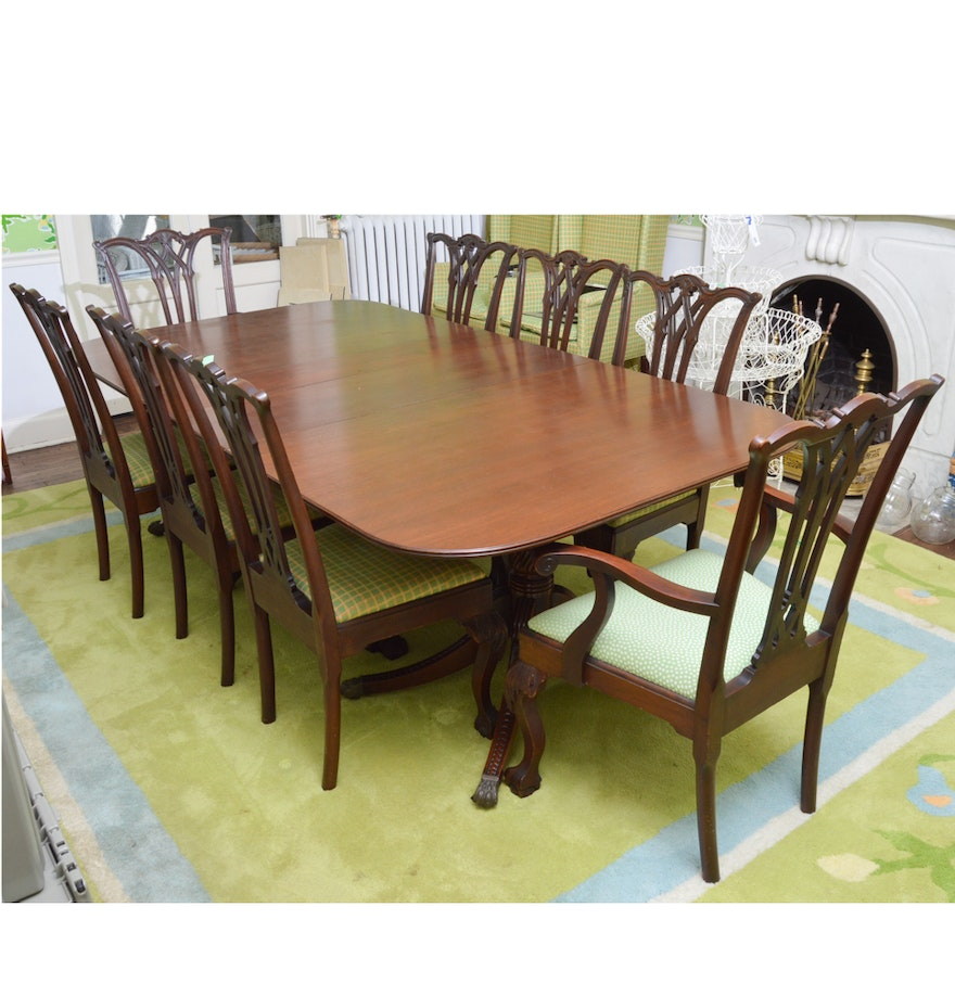 100 duncan phyfe dining room table very fine brass for Duncan 5 dining room table