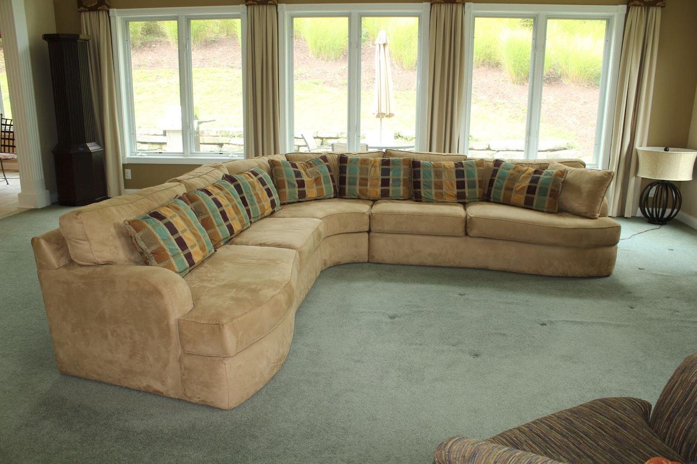 Carter 3 Piece Sectional Sofa Ebth