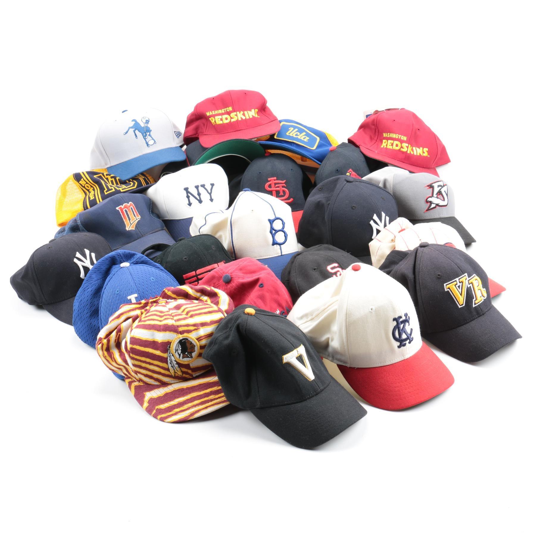 Assortment of Sports Hats