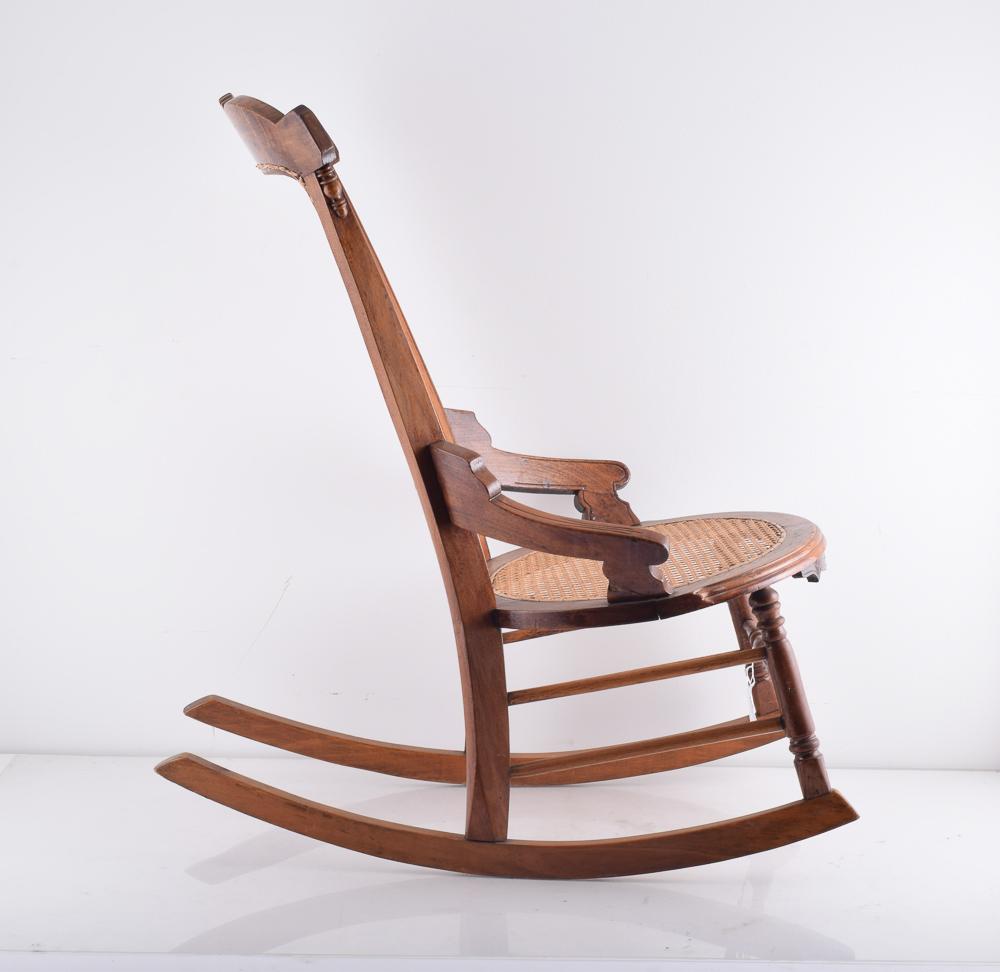 Marvelous Gift Mark Deluxe Childrens Spindle Rocking Chair Espresso Machost Co Dining Chair Design Ideas Machostcouk