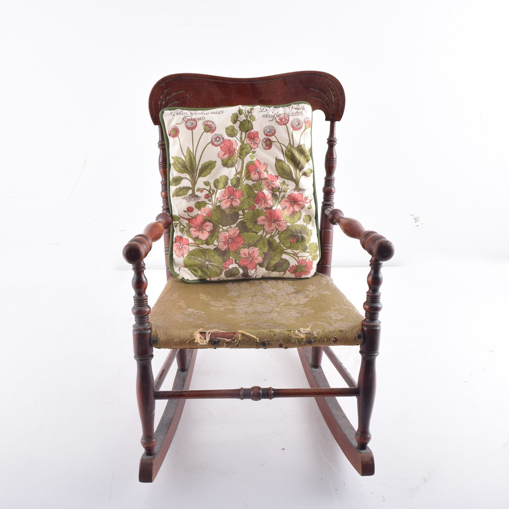 Adult And Child S Vintage Rocking Chairs Ebth
