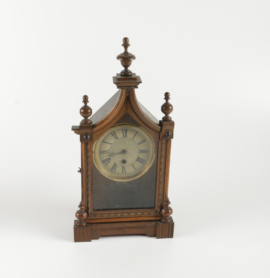 Vintage hac wurttemburg mantle clock ebth vintage hac wurttemburg mantle clock amipublicfo Choice Image