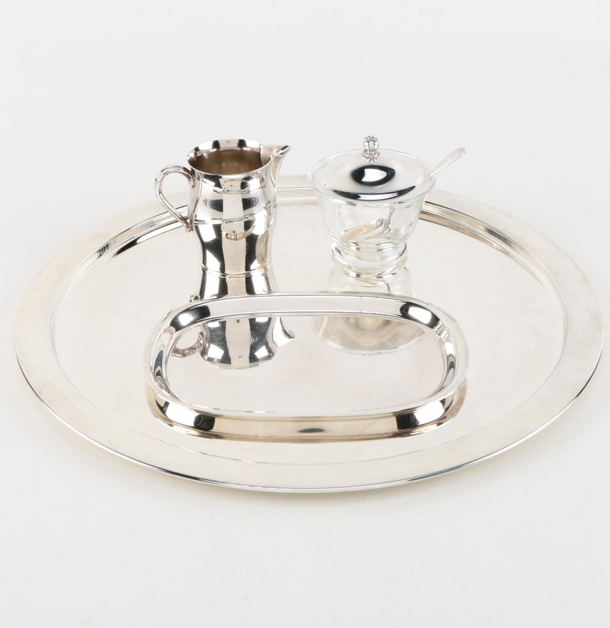 Godinger Silver Art Co Basket : Silver plate serveware featuring godinger art co
