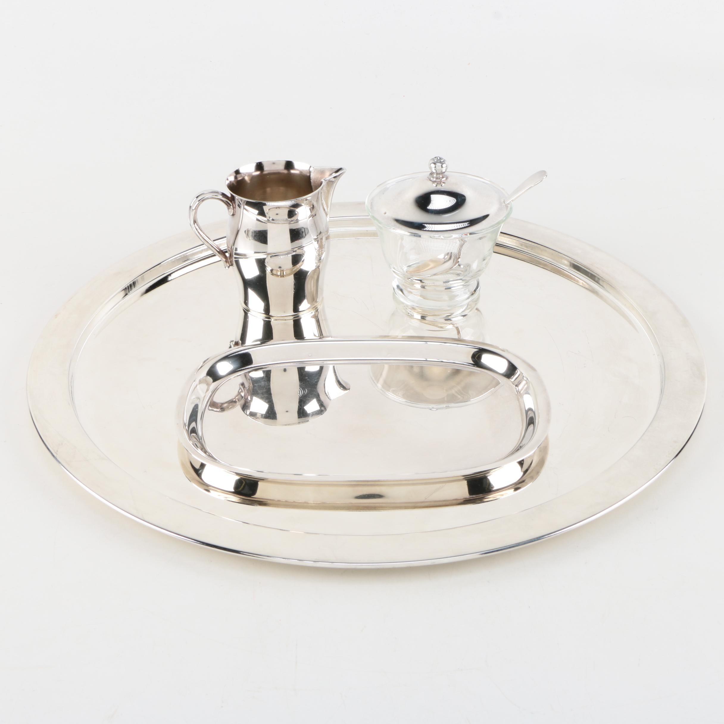 charming Godinger Silver Art Co. Ltd Part - 6: Silver Plate Serveware Featuring Godinger Silver Art Co. Ltd. ...