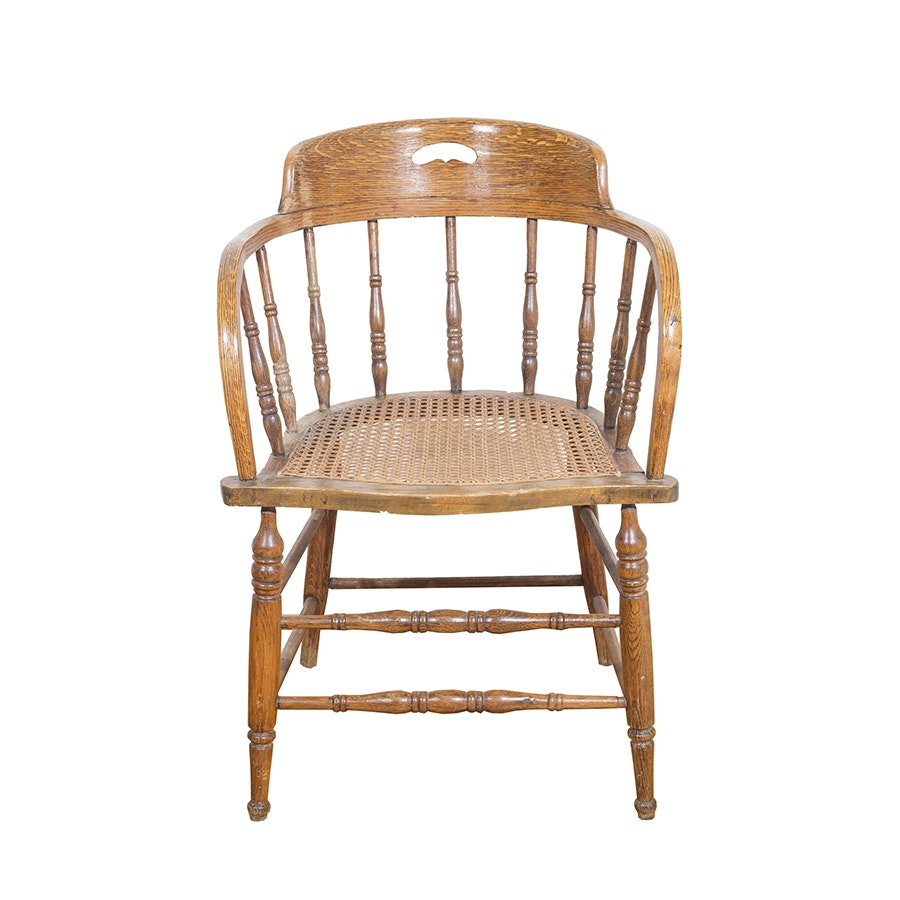 Vintage Low Back Windsor Chair