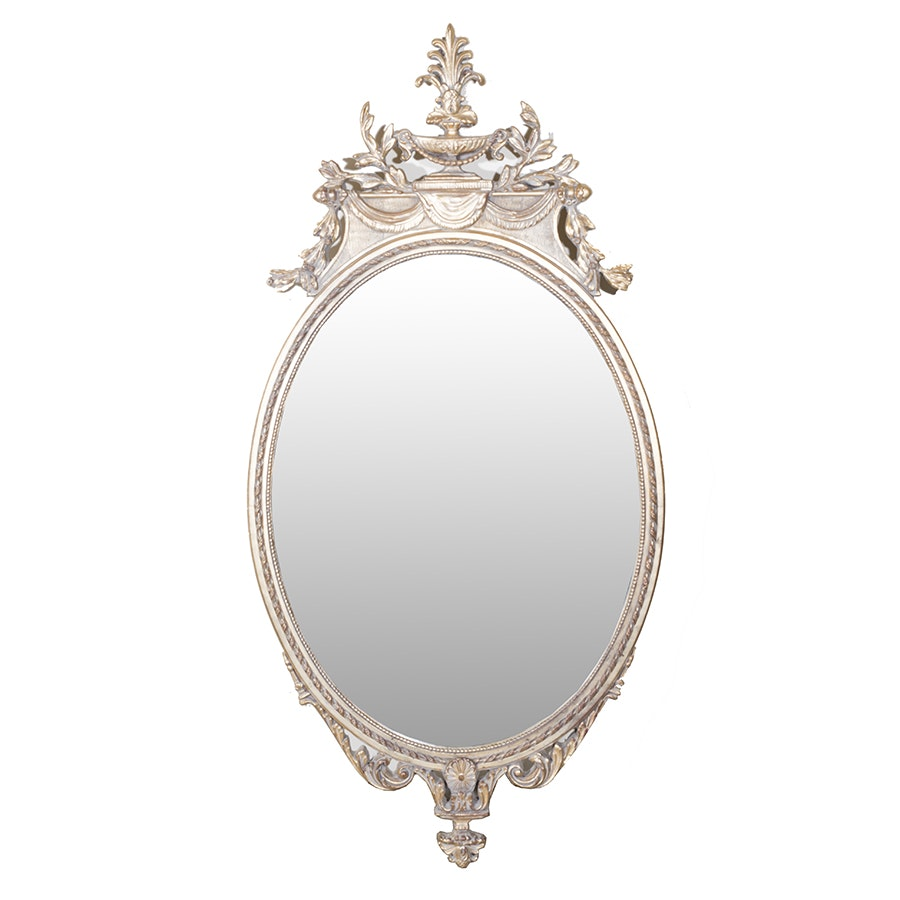 Vintage Mirror Craft Royal Oval Wall Mirror
