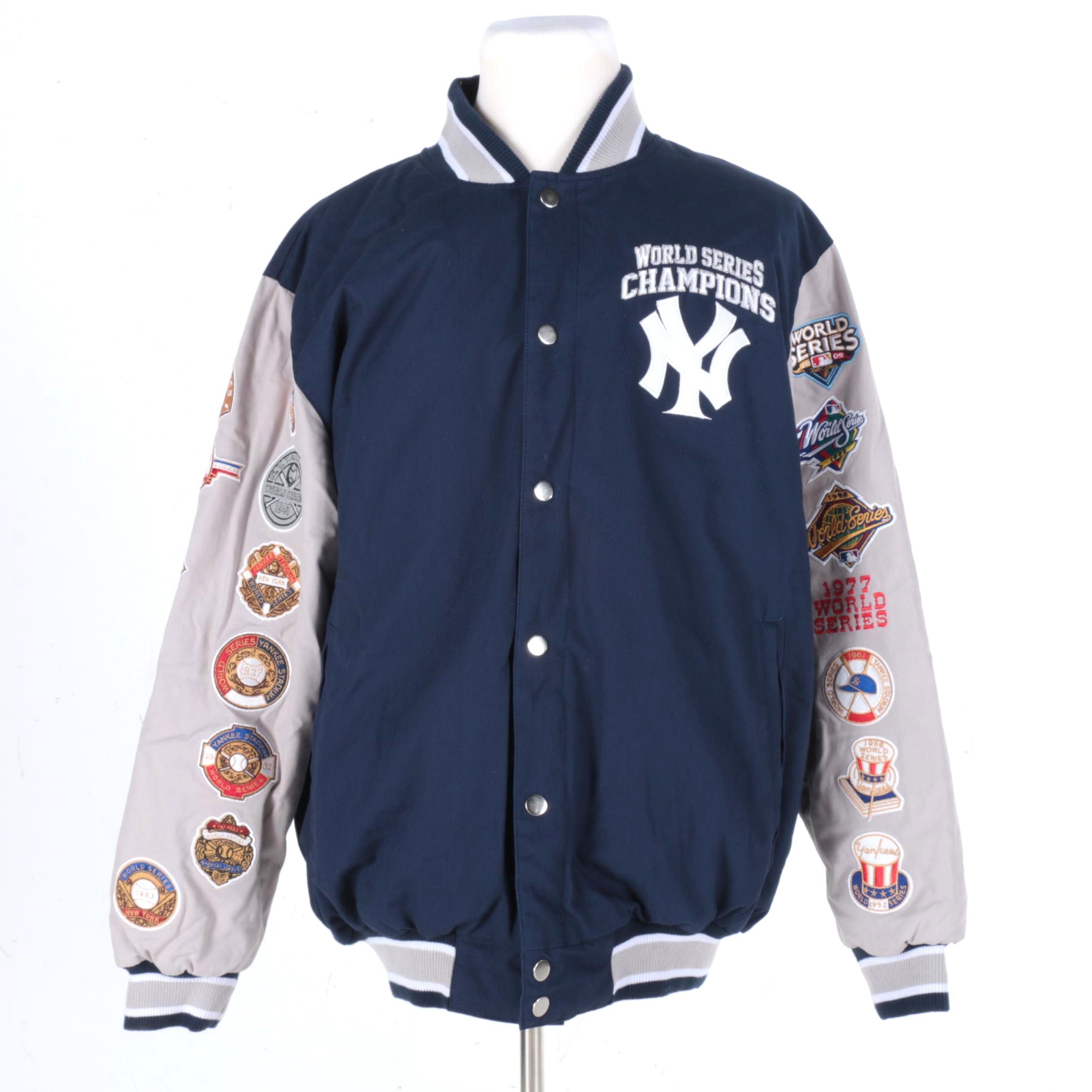 New York Yankees World Series Champions Jacket Ebth
