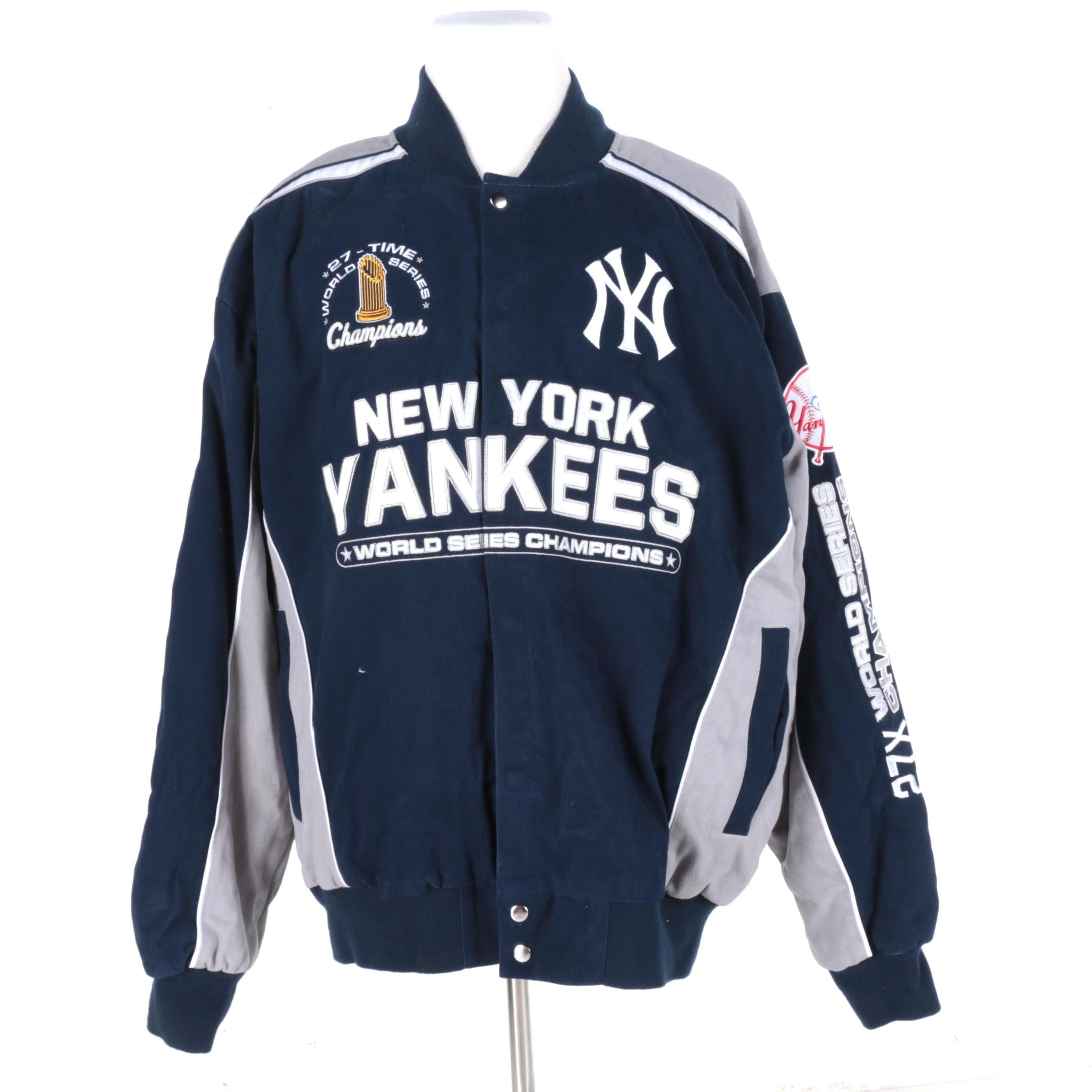 Priority New York Yankees World Series Champions Jacket Ebth