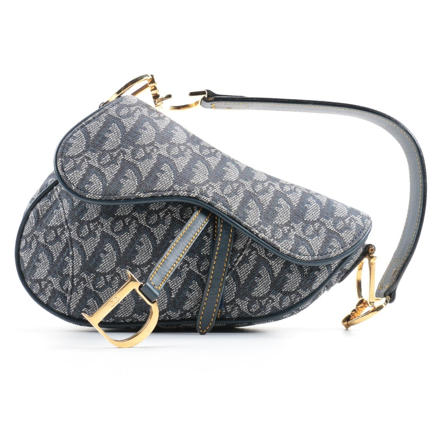 Dior Monogram Saddle Bag