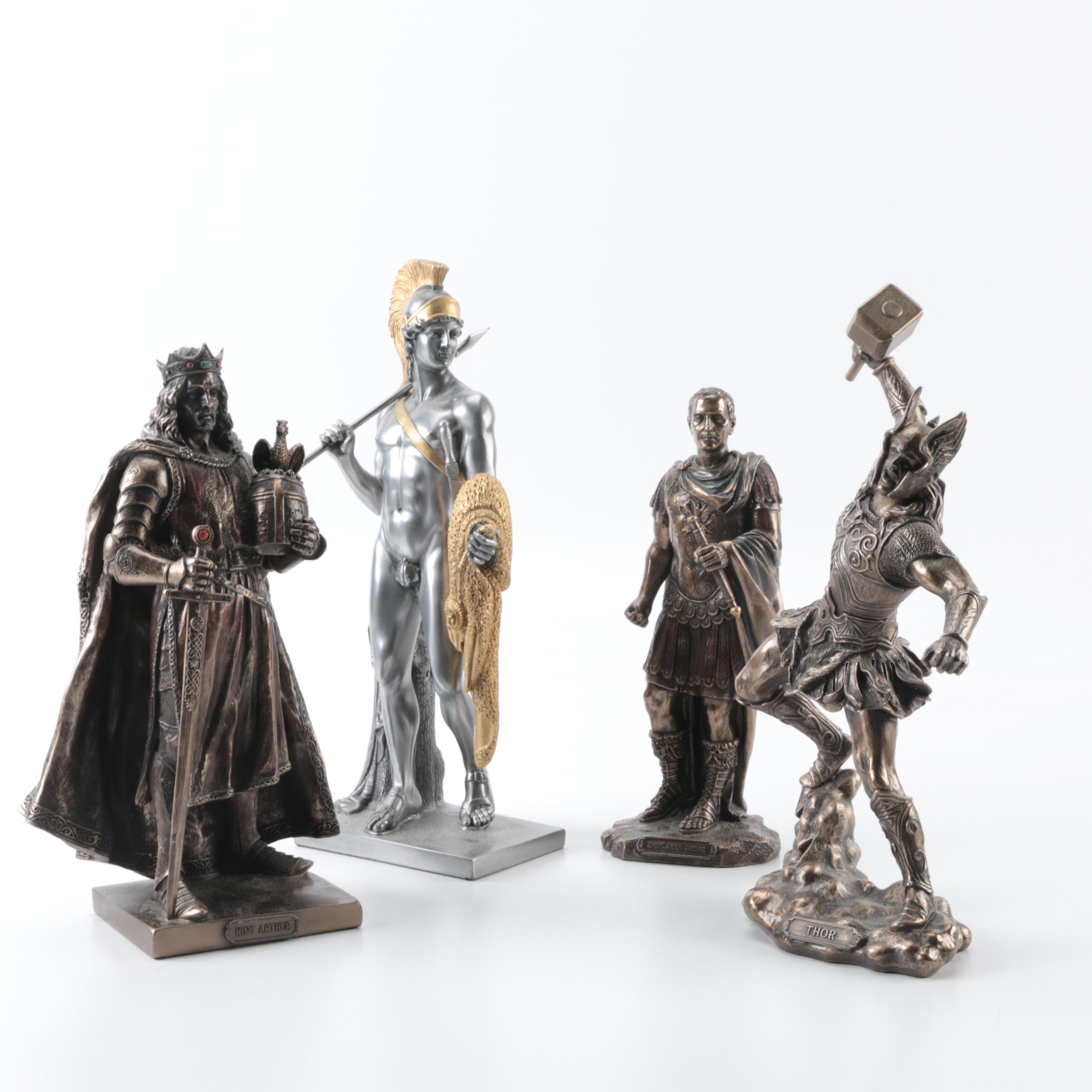 Veronese Bronze and Metal Resin Sculptures
