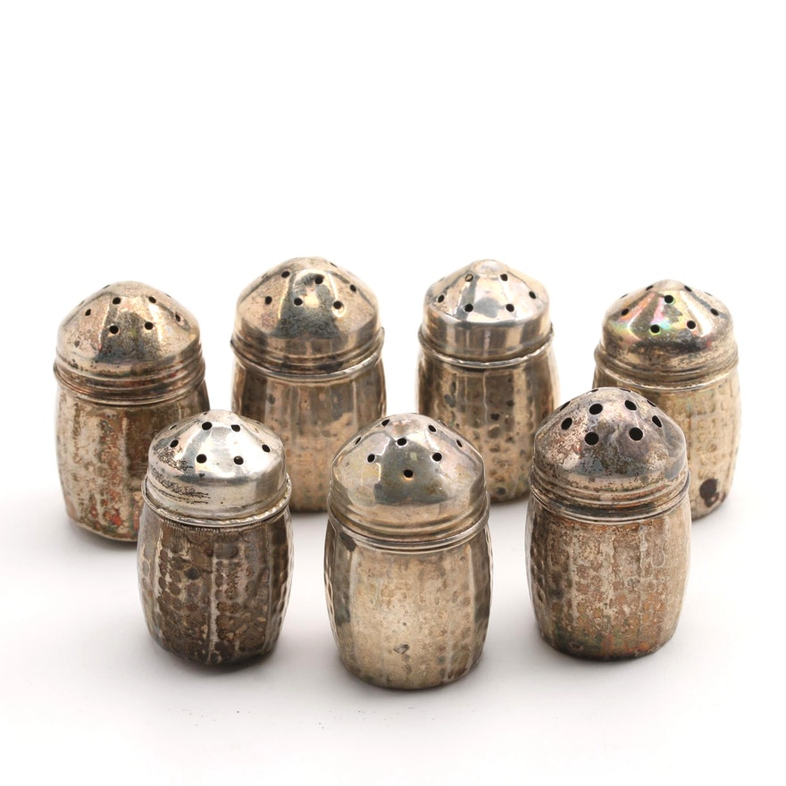 S.C.S. Co. Sterling Silver Individual Salts