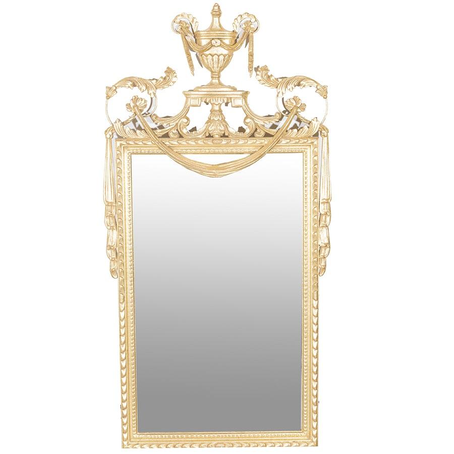 Vintage La Barge Gold Wall Mirror
