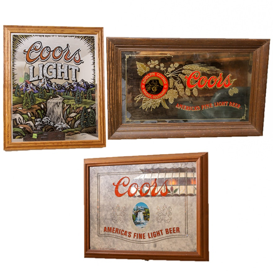 Collection of coors bar mirrors and light ebth collection of coors bar mirrors and light aloadofball Image collections