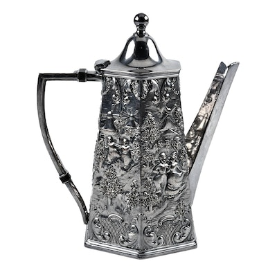 Barbour Silver Co. Silver Plate Coffee Pot